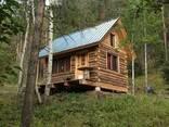 Построим красивый , оригинальный дом из дерева и камня - photo 3