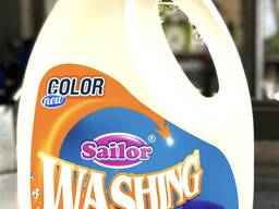 Sailor color 5,450L and 4L washing powder